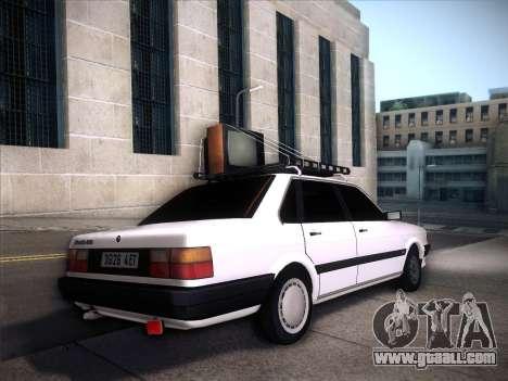 Audi 80 B2 v2.0 for GTA San Andreas inner view