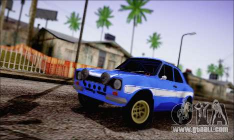Ford Escort Mk1 RS1600 for GTA San Andreas