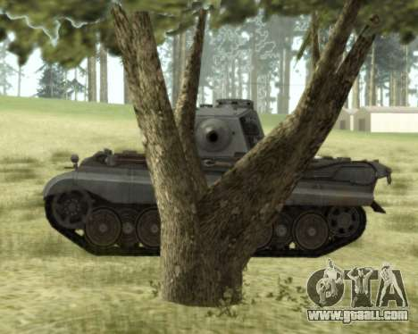 PzKpfw VIB Tiger II for GTA San Andreas back left view