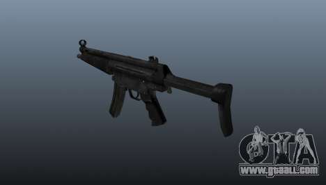 Submachine gun HK MP5 A3 for GTA 4 second screenshot