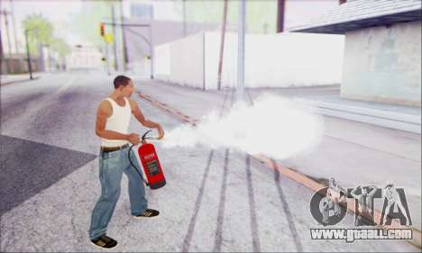 New fire extinguisher 2 for GTA San Andreas third screenshot