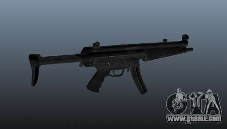 Submachine gun HK MP5 A3 for GTA 4 third screenshot