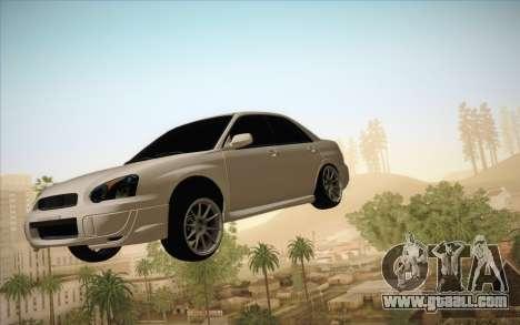 Freeze car in air for GTA San Andreas second screenshot