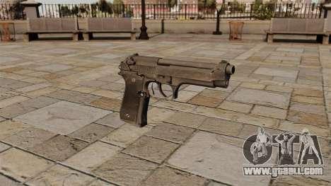 Beretta semi-automatic pistol for GTA 4