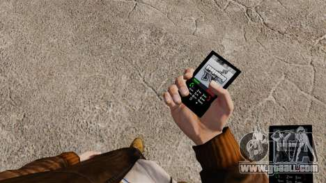 The theme for the phone GTAGaming for GTA 4