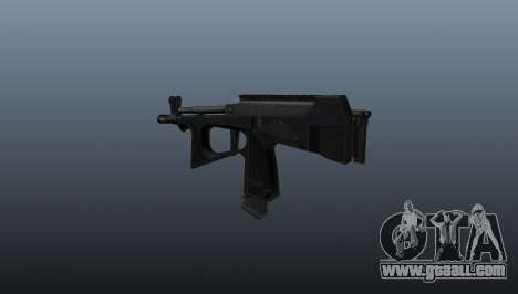 Submachine gun pp-2000 v2 for GTA 4 second screenshot