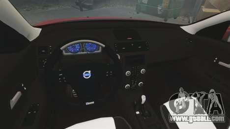 Volvo C30 T5 2009 for GTA 4 inner view