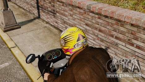 A collection of helmets Arai v1 for GTA 4 second screenshot