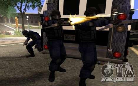 SWAT from Manhunt 2 for GTA San Andreas third screenshot