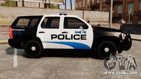 Chevrolet Tahoe Police [ELS] for GTA 4 left view