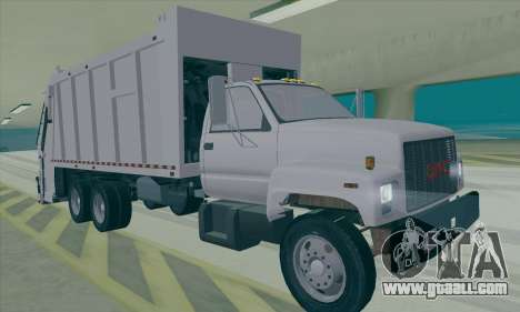 GMC C550 Topkick Trashmaster for GTA San Andreas left view