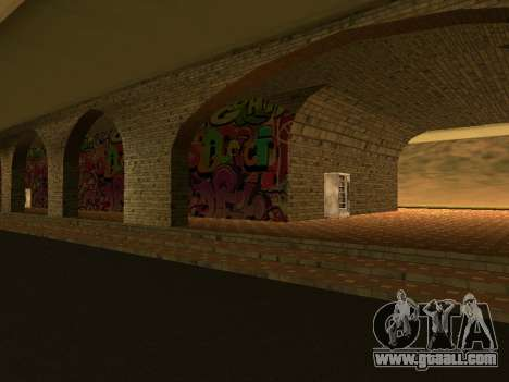 Railway station Las Venturas v1.0 for GTA San Andreas second screenshot