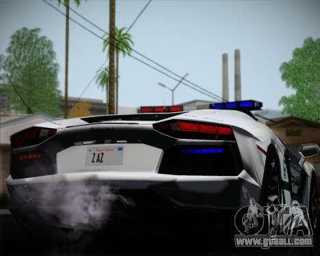 Lamborghini Aventador LP700-4 2012 RCPD V1.0 for GTA San Andreas side view