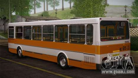 LIAZ 5256.00 Skin 3-Pack for GTA San Andreas back left view