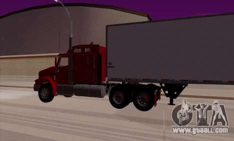 International 9400i Flattop for GTA San Andreas right view