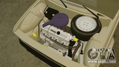 Zastava Yugo 128 for GTA 4 inner view
