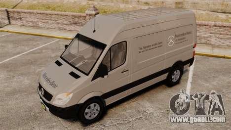 Mercedes-Benz Sprinter 2500 2011 v1.4 for GTA 4 wheels