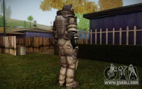 COD MW3 Heavy Commando for GTA San Andreas fifth screenshot