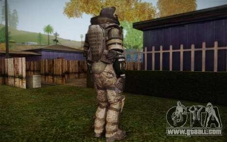 COD MW3 Heavy Commando for GTA San Andreas fifth screenshot