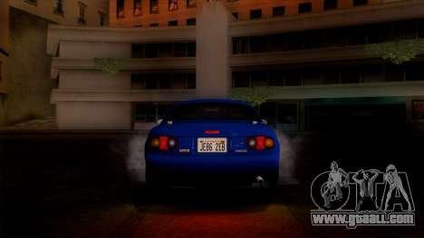 Mazda MX-5 Miata (NA) 1989 for GTA San Andreas inner view