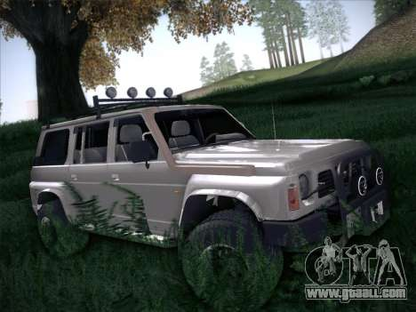 Nissan Patrol GR 1991 for GTA San Andreas back left view
