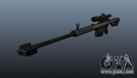 Barrett M82A1 sniper rifle for GTA 4