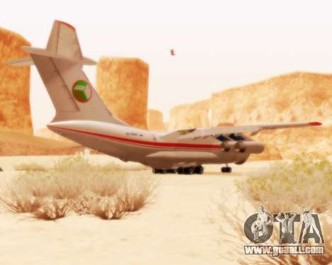 Ilyushin Il-76td for GTA San Andreas right view