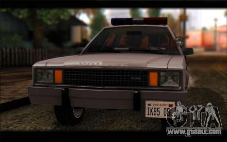 Ford Fairmont 1978 4dr Police for GTA San Andreas back left view