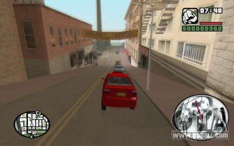 Speedometr da Rockstar for GTA San Andreas second screenshot