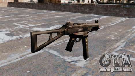 HK UMP submachine gun for GTA 4 second screenshot