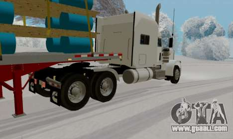 Peterbilt 389 for GTA San Andreas back left view