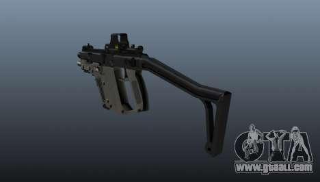 Submachine gun Kriss Super V for GTA 4 second screenshot