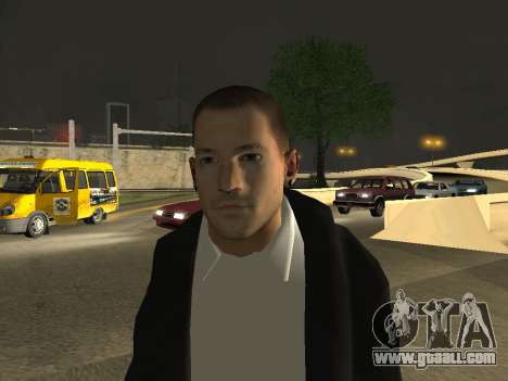 Chester Bennington for GTA San Andreas third screenshot