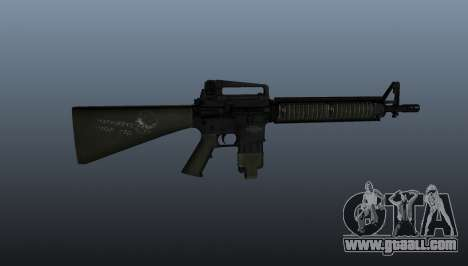 The M16A4 assault rifle for GTA 4 third screenshot