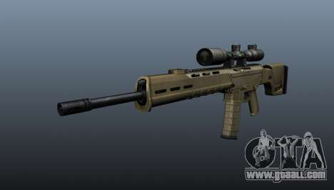 Automatic rifle Magpul Masada for GTA 4