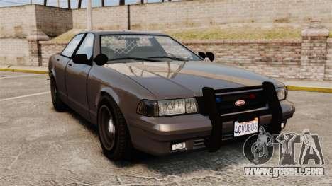 GTA V Unmarked Cruiser Police for GTA 4