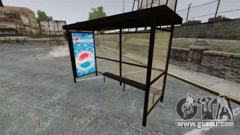 New advertising at bus stops for GTA 4 fifth screenshot