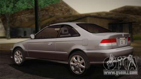 Honda Civic Si 1999 Coupe for GTA San Andreas left view