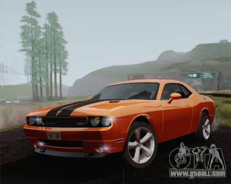 Dodge Challenger SRT-8 2010 for GTA San Andreas