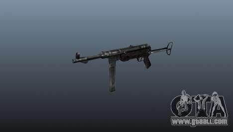 MP 40 submachine gun for GTA 4