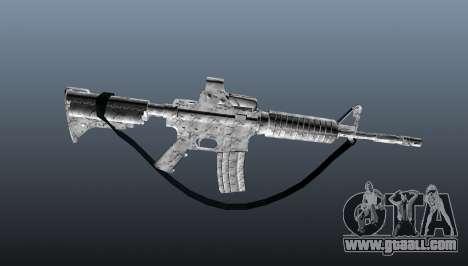 Automatic carbine M4A1 for GTA 4 third screenshot