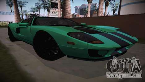 Ford GT TT Ultimate Edition for GTA San Andreas back left view