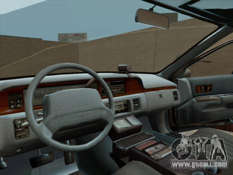 Chevrolet Caprice LAPD 1991 for GTA San Andreas right view