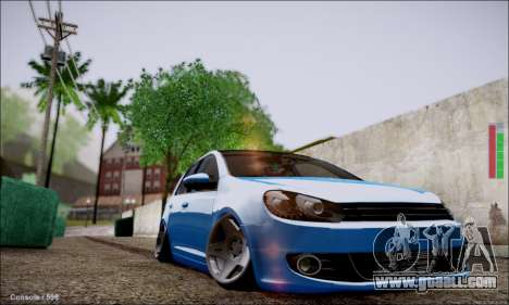 Volkswagen mk6 Stance Work for GTA San Andreas left view
