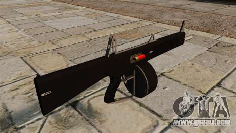 The AA-12 shotgun for GTA 4 second screenshot