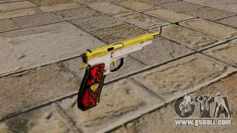 The new pistol CZ75 for GTA 4 second screenshot