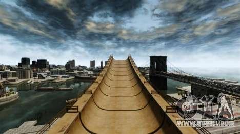 Mega jump for GTA 4 forth screenshot