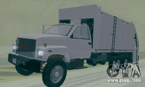 GMC C550 Topkick Trashmaster for GTA San Andreas