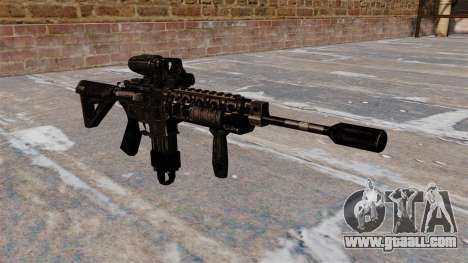 Automatic M4 carbine Hybrid Scope for GTA 4