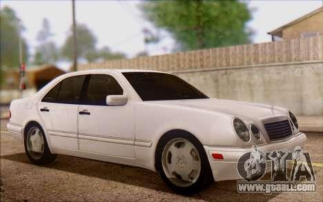 Mercedes-Benz E420 v2.0 for GTA San Andreas